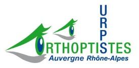 URPS orthoptiste ARA